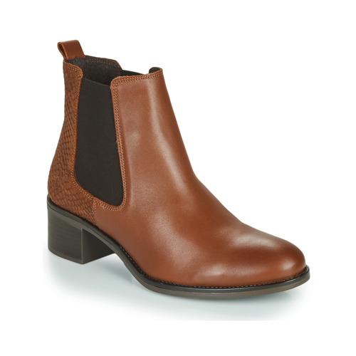 Chaussures Femme Bottines Betty London HASNI Rouille