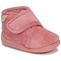 Chaussures Fille Chaussons Citrouille et Compagnie HALI Vieux rose