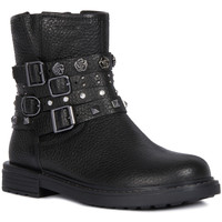 Chaussures Fille Bottines Geox J949QB ECLAIR Noir