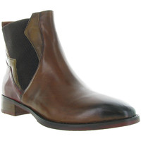 Chaussures Femme Bottines Everybody 58594 Marron