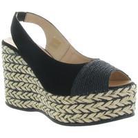 Chaussures Femme Sandales et Nu-pieds Gaimo RENE Noir