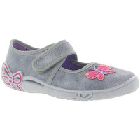 Chaussures Fille Ballerines / babies Superfit 288 Gris