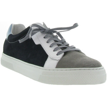 Chaussures Homme Baskets basses Schmoove SPARK CLAY SUEDE NAPPA Bleu