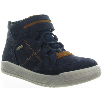 Chaussures Garçon Baskets montantes Superfit 059 Bleu