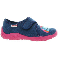 Chaussures Fille Chaussons Superfit 258 Bleu