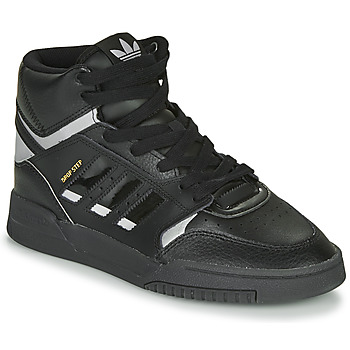 Chaussures Baskets basses adidas Originals DROP STEP Noir / Argent