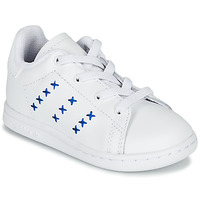 Chaussures Enfant Baskets basses adidas Originals STAN SMITH EL I Blanc