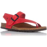 Chaussures Femme Sandales et Nu-pieds Interbios 7162 Rouge