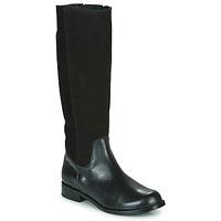 Chaussures Femme Bottes ville So Size NEOLE Noir