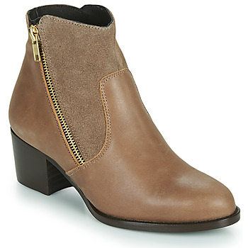Chaussures Femme Bottines So Size FELICIO Camel
