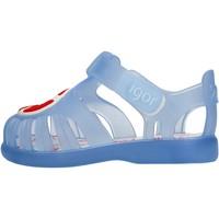Chaussures Garçon Sandales et Nu-pieds IGOR - Gabbietta celeste S10249-023 CELESTE