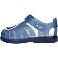 Chaussures Garçon Sandales et Nu-pieds IGOR - Gabbietta blu S10249-063 BLU