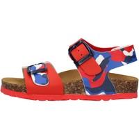 Chaussures Garçon Sandales et Nu-pieds Gold Star - Sandalo rosso 1805ST ROSSO