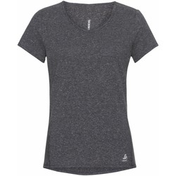 Vêtements Femme T-shirts manches courtes Odlo T-shirt femme  Lou Linencool gris