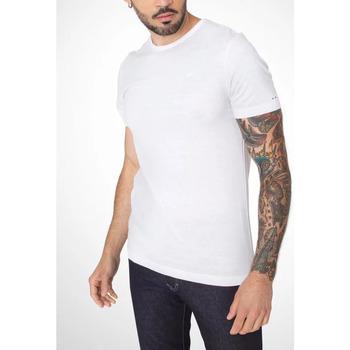 Vêtements Homme T-shirts manches courtes TBS MERCI Blanc