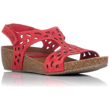 Chaussures Femme Sandales et Nu-pieds Interbios 5372 Rouge