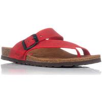 Chaussures Femme Sandales et Nu-pieds Interbios 7119 Rouge