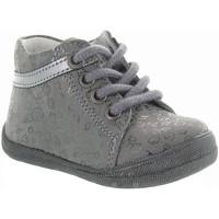 Chaussures Fille Boots Bellamy VAR Gris