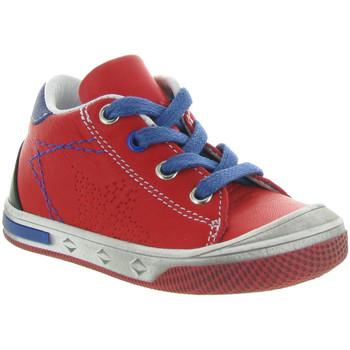 Chaussures Enfant Boots Bellamy ROBO Rouge