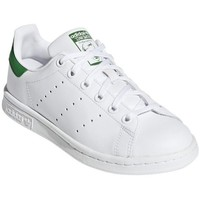 Chaussures Baskets basses adidas Originals Stan Smith Junior Blanc