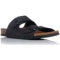 Chaussures Homme Mules Interbios 7206 Noir