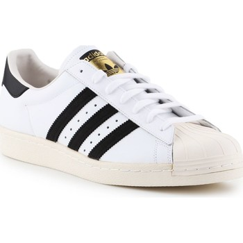 Chaussures Homme Baskets basses adidas Originals Superstar 80S Blanc,Noir