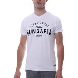 Vêtements Homme T-shirts manches courtes Hungaria H-16TLMOBOLV Blanc