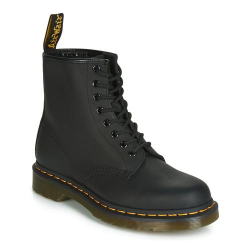 1460 1460 Boots Boots Noir Martens Noir Dr Dr 1460 Martens D29EHIW