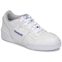 Chaussures Enfant Baskets basses Reebok Classic WORKOUT PLUS Blanc