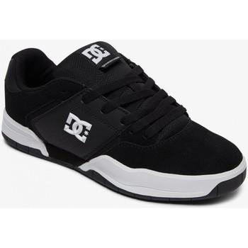 Chaussures Homme Chaussures de Skate DC Shoes CENTRAL black white Noir