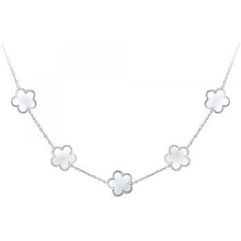 Montres & Bijoux Femme Colliers / Sautoirs Sc Crystal B1997 Argenté