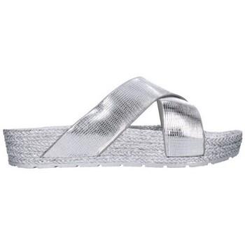 Chaussures Femme Mules Kelara K1/229 Mujer Plata Argenté