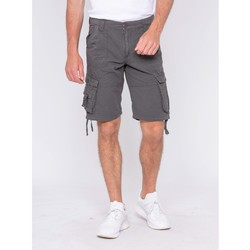 Vêtements Homme Shorts / Bermudas Ritchie Bermuda battle BADALAC Gris foncé