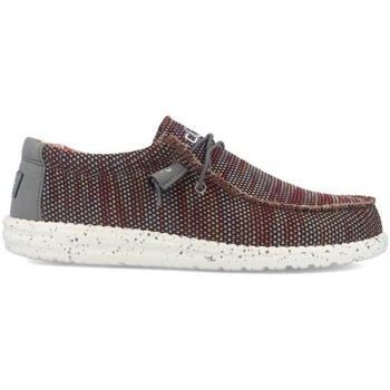 Chaussures Homme Mocassins Hey Dude WALLY SOX rouge