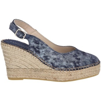 Chaussures Femme Espadrilles Ramoncinas CHOCOLAT POINTE ESPADRILLES STONY TESHUB BLEU