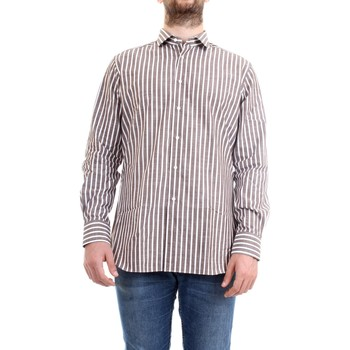Vêtements Homme Chemises manches longues Xacus 61201.005 Chemise homme marron marron