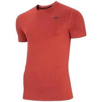 Vêtements Homme T-shirts manches courtes 4F TSMF003 Rouge