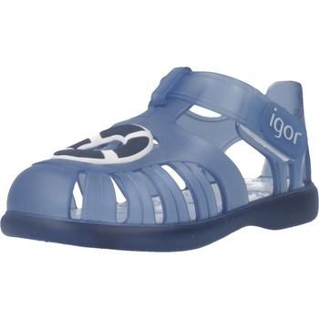 Chaussures Garçon Sandales et Nu-pieds IGOR S10249 Bleu