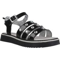 Chaussures Fille Sandales et Nu-pieds Asso AG6703 Noir