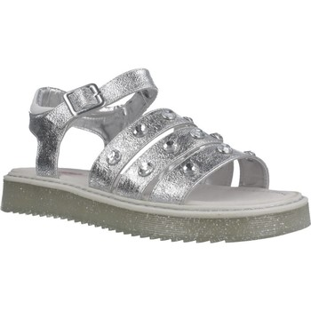 Chaussures Fille Sandales et Nu-pieds Asso AG6703 Argent