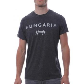 Vêtements Homme T-shirts manches courtes Hungaria H-15TOUYBOPS Gris