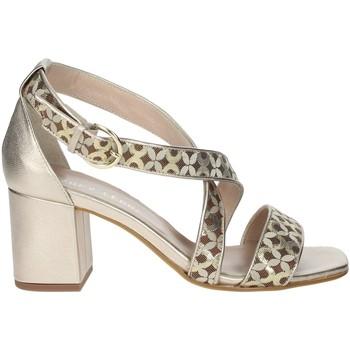 Chaussures Femme Sandales et Nu-pieds Paola Ferri D8128 Sandales Femme  Bronze  Bronze