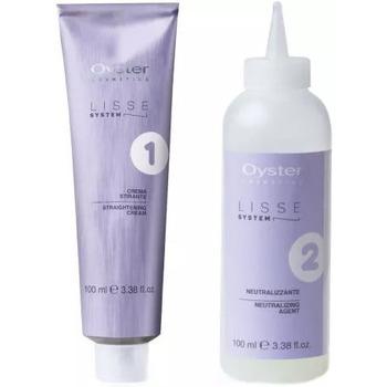 Beauté Femme Soins & Après-shampooing Oyster Professional Oyster - Lisse System permanent professionnel - 2x100ml Autres
