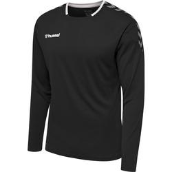 Vêtements Homme T-shirts manches longues Hummel Maillot  manches longues hmlAUTHENTIC Poly noir/blanc