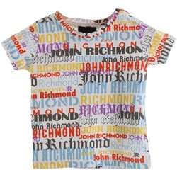 Vêtements Garçon T-shirts manches courtes Richmond Kids RIP20013TS multicolore
