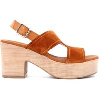 Chaussures Femme Sandales et Nu-pieds Paula Urban 15-287 Marrone