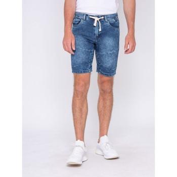 Vêtements Homme Shorts / Bermudas Ritchie Bermuda en jean BALADOU Bleu