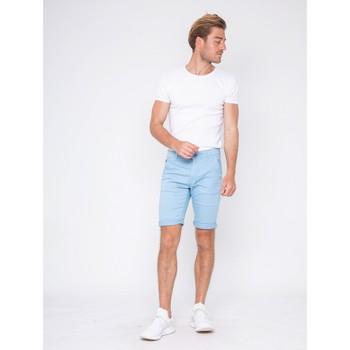 Vêtements Homme Shorts / Bermudas Ritchie Bermuda chino BAVOLTA Bleu royal