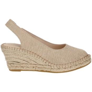 Chaussures Femme Espadrilles Ramoncinas ESPADRILLES VIBORA 5 CORDES BEIGE
