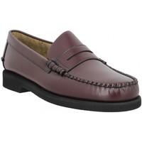 Chaussures Homme Mocassins Sebago Dan Polaris cuir Homme Brown Burgundy Marron
